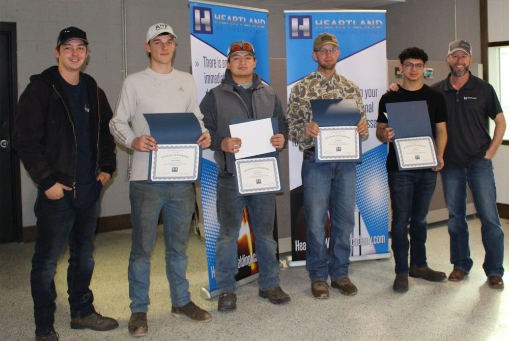 welding academy graduates